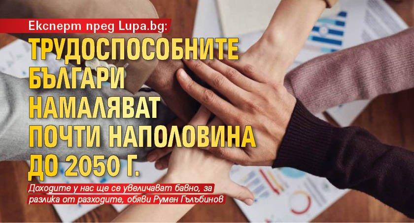 Експерт пред Lupa.bg: Трудоспособните българи намаляват почти наполовина до 2050 г.