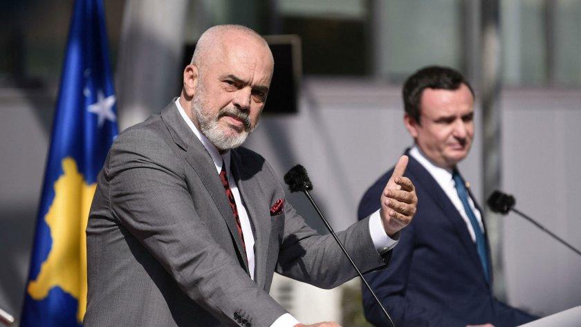 Еди Рама подкрепя Косово за действията му срещу Сърбия