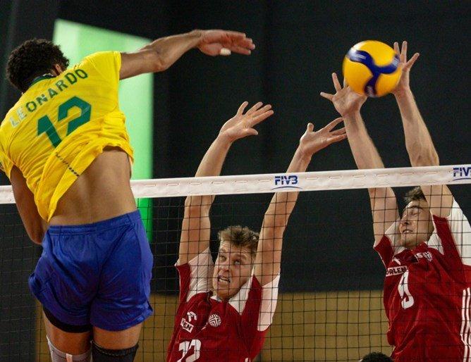 Полша тушира Бразилия в София