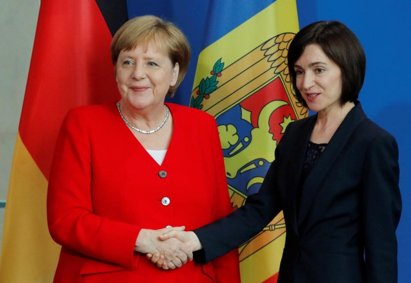 Майя Санду на встрече с президентом Германии: Молдова меняется