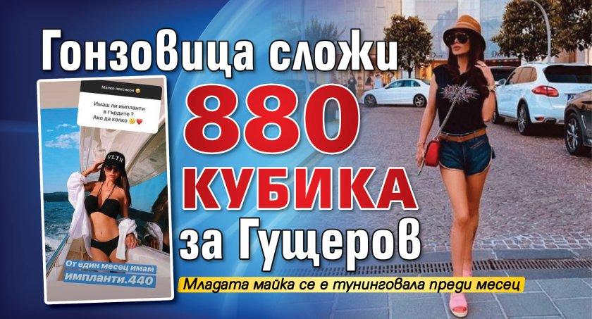 Гонзовица сложи 880 кубика за Гущеров