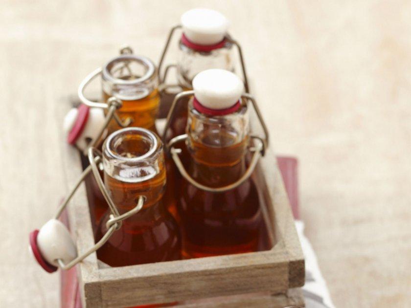 Сироп от бъзов плод с ябълков сок