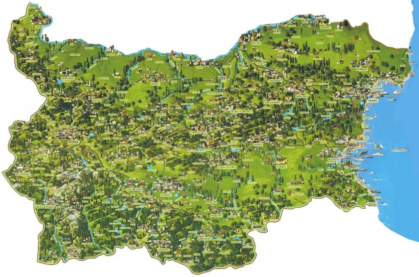 Старите имена на българските градове (СНИМКИ)
