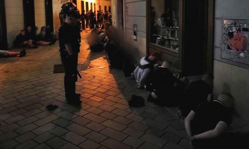 Седем хулигани в кауша след боя с левскарите в Братислава