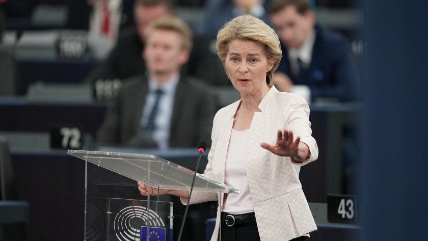 Урсула фон дер Лайен: Искам зелена сделка за Европа
