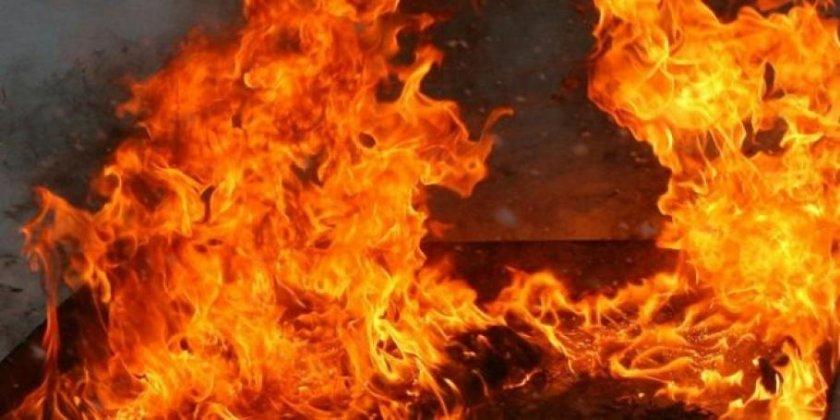Голям пожар във Франция