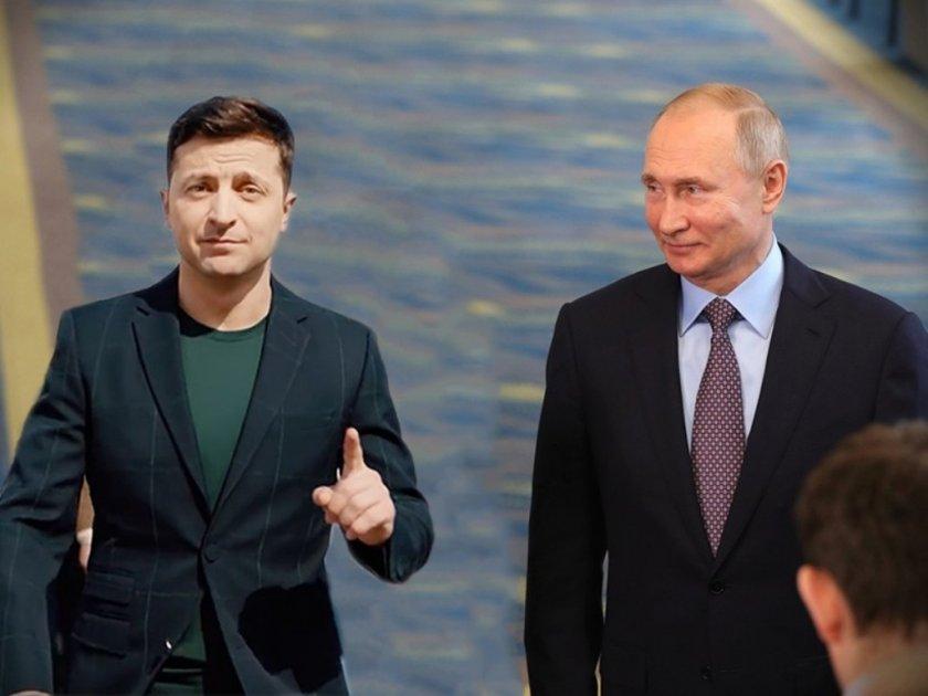 Путин в първи телефонен разговор със Зеленски за Украйна