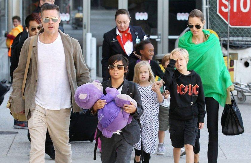 Брад Пит взе децата от Анджелина