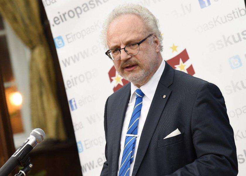 Президентът на Латвия с положителен тест за COVID