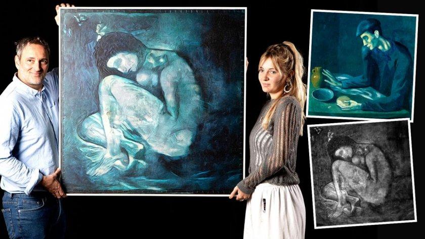 Изкуствен интелект откри скрита картина на Пикасо