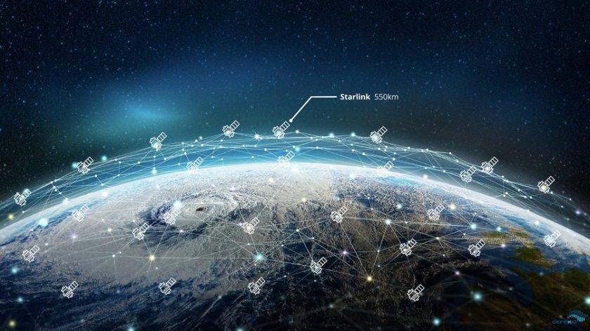 Мъск: Starlink ще предоставя интернет по време на самолетни полети