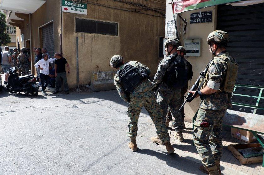 Кървави сблъсъци разтресоха Бейрут