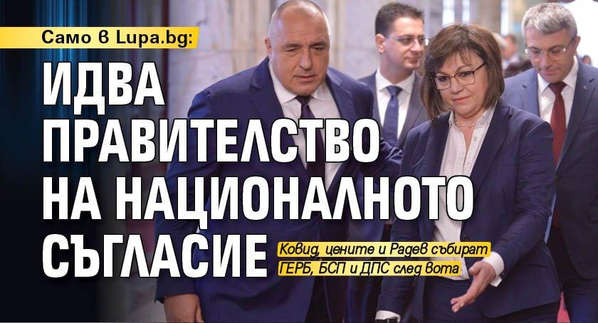 Само в Lupa.bg: Идва правителство на националното съгласие