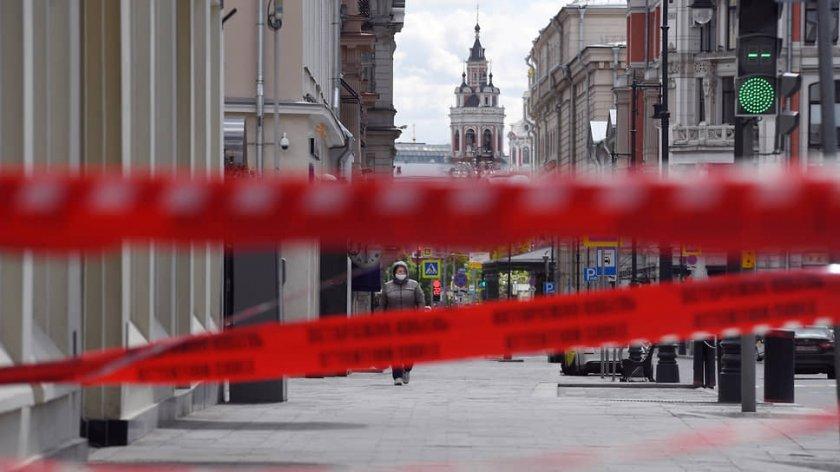 Локдаун в Москва