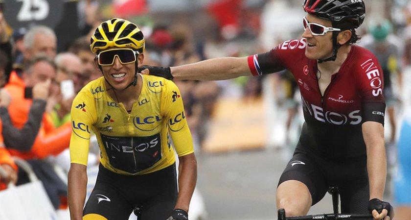 "Колумбиец сензационно спечели ""Тур дьо Франс"""