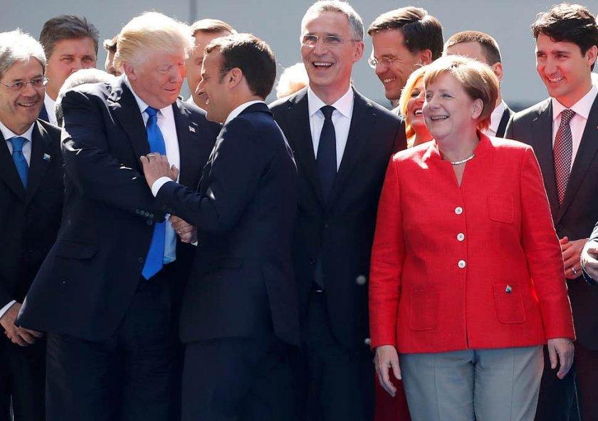 Как Тръмп задълбочава разлома между Берлин и Париж