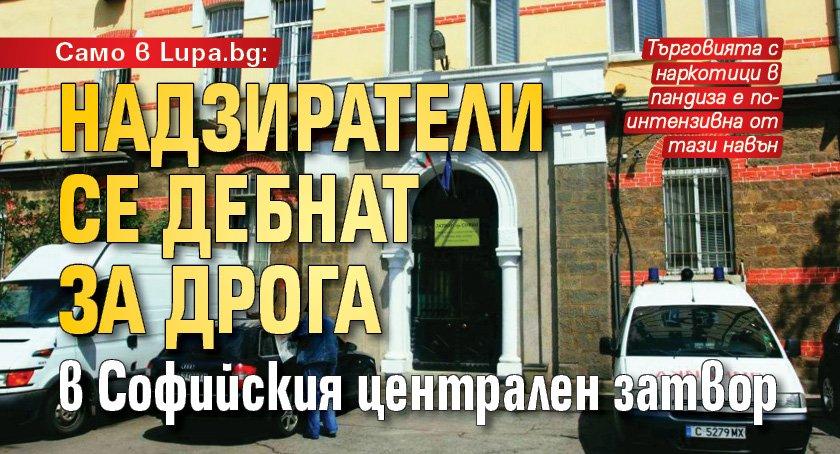 Само в Lupa.bg: Надзиратели се дебнат за дрога в Софийския централен затвор