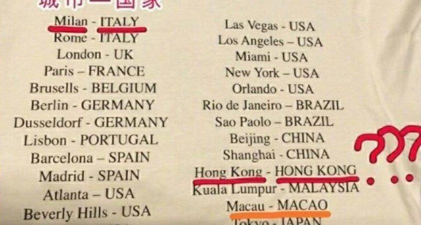 """""""Живанши"""", """"Версаче"""" и """"Коуч"""" разгневиха Китай"""