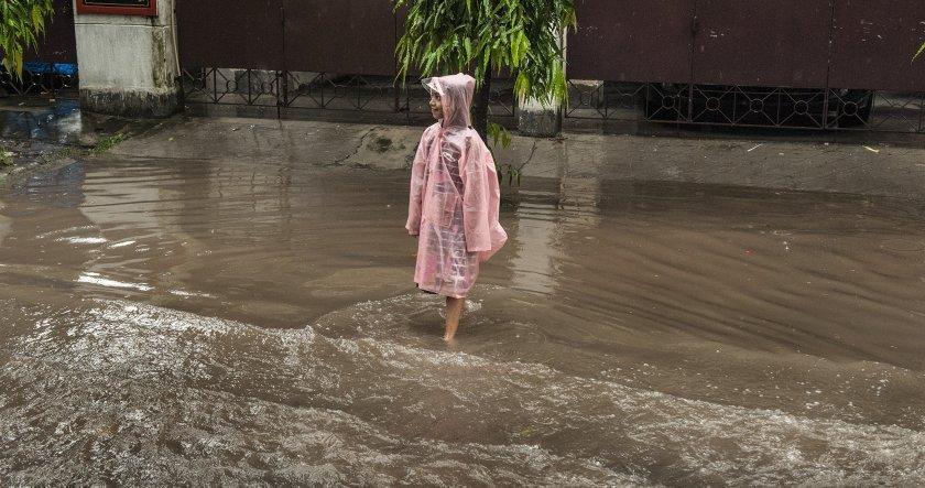 Порой и наводнения в Истанбул, има загинал