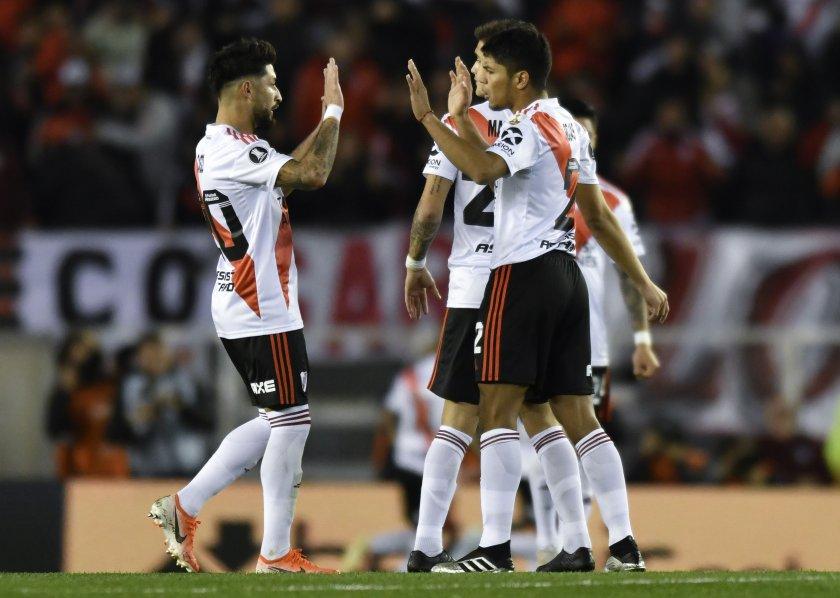 """Ривър на крачка от 1/2-финал за """"Либертадорес"""", задава се нов сблъсък с Бока"""