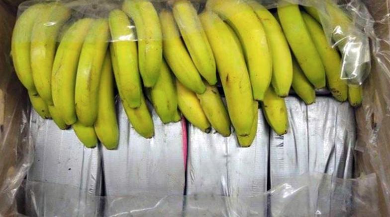 Коката в Бургас е 75 кг, била в кашони с банани
