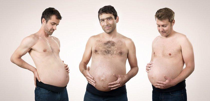 Мъжкото надебеляване при бременност - емпатия, солидарност или болест?