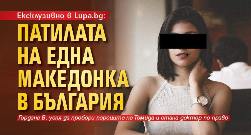 Ексклузивно в Lupa.bg: Патилата на една македонка в България