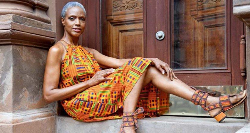 60-годишна манекенка се върна на модния подиум