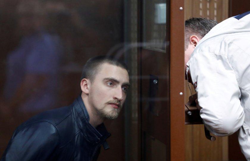 Руски творци подкрепиха актьор, осъден за насилие срещу полицията