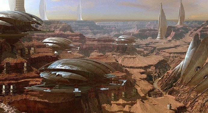 Има ли град на Марс?