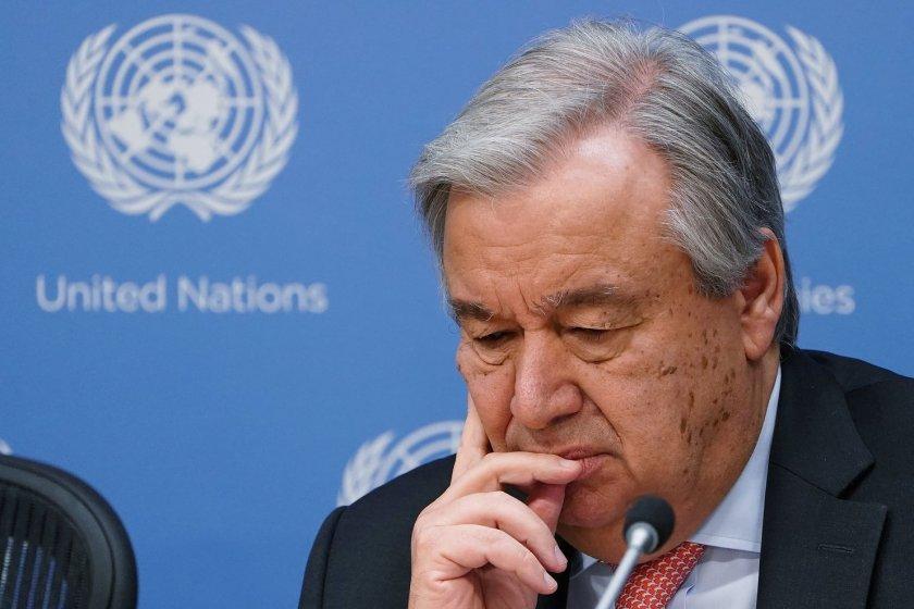 ООН може да няма пари за заплати следващия месец