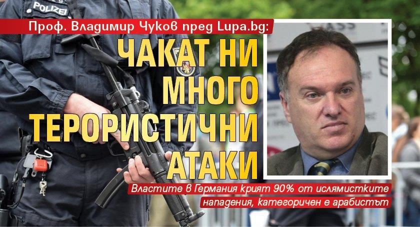 Проф. Владимир Чуков пред Lupa.bg: Чакат ни много терористични атаки