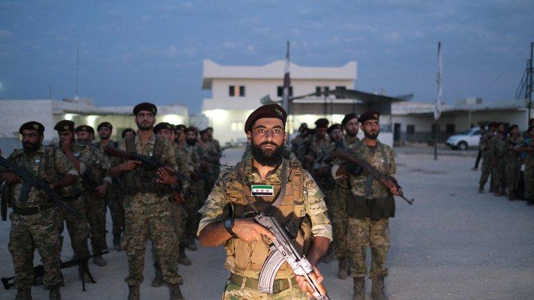 Турция започна военната операция срещу Сирия