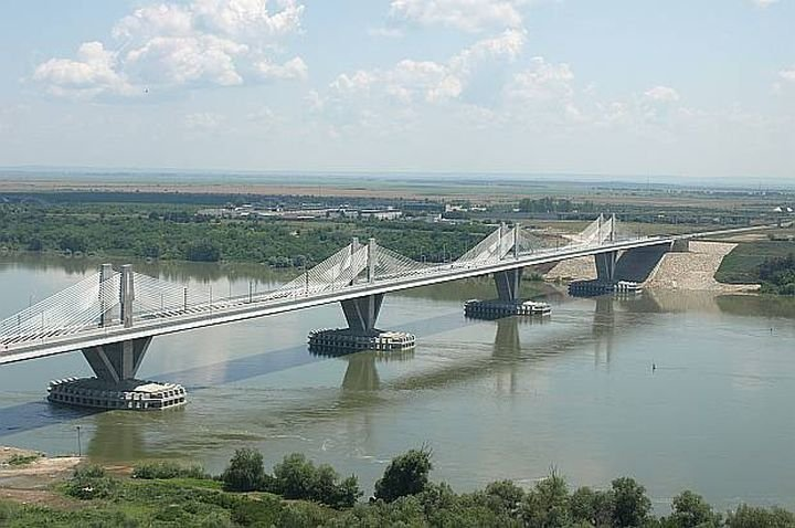 Затварят част от Дунав мост 2
