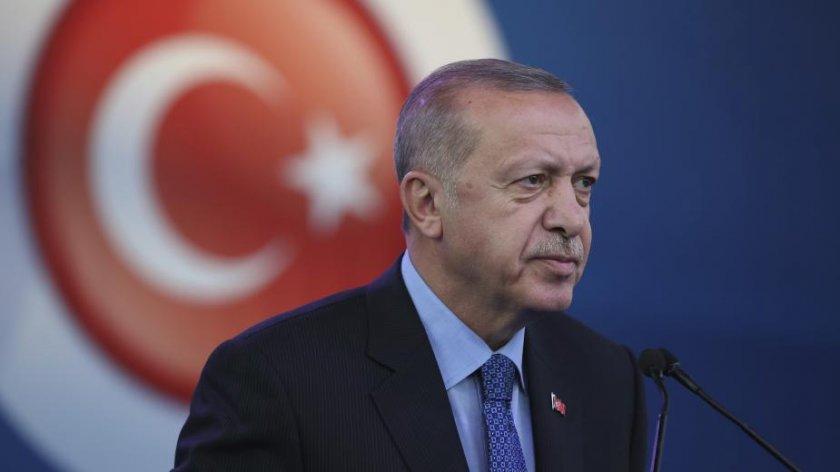 Ердоган защити военната операция в Сирия