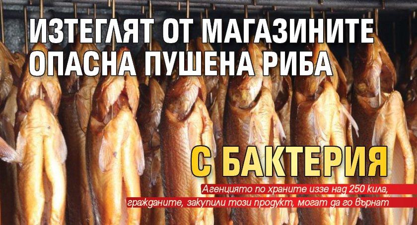 Изтеглят от магазините опасна пушена риба с бактерия