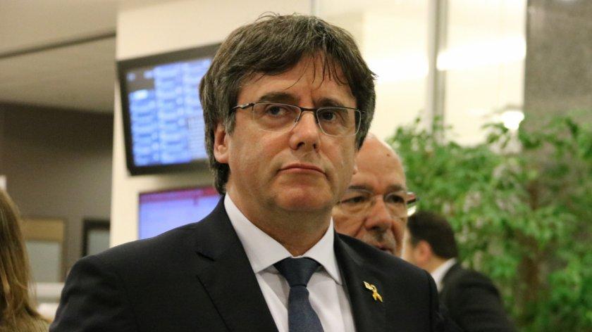 Карлес Пучдемон се предаде на властите в Белгия