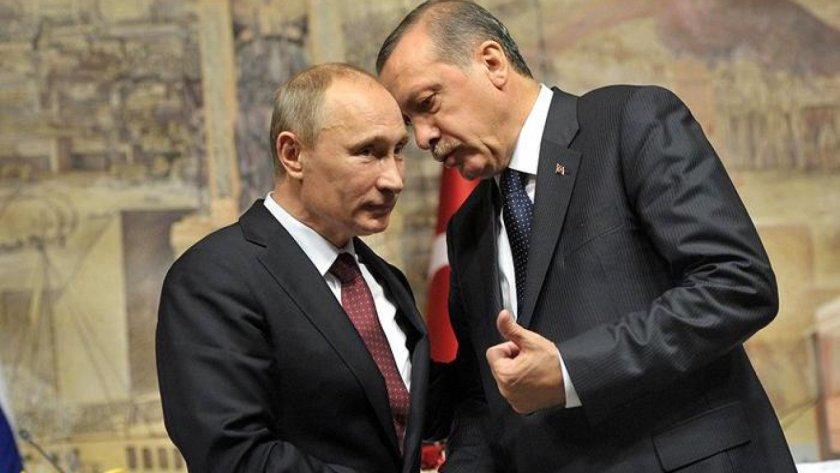 """Ердоган """"на килимчето"""" пред Путин в Москва"""