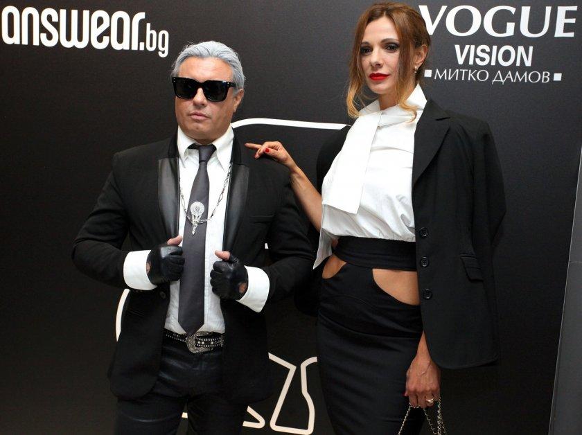 Топ модели почетоха Карл Лагерфелд в София