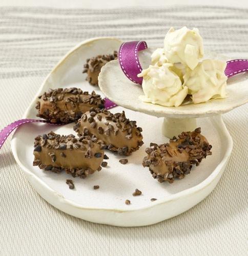 Карибски шоколадови трюфели с кокос