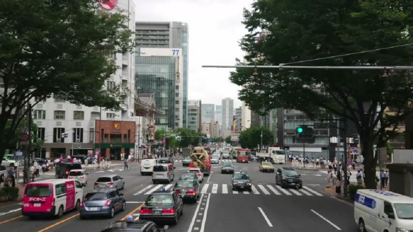 Колко често японецът сменя колата?