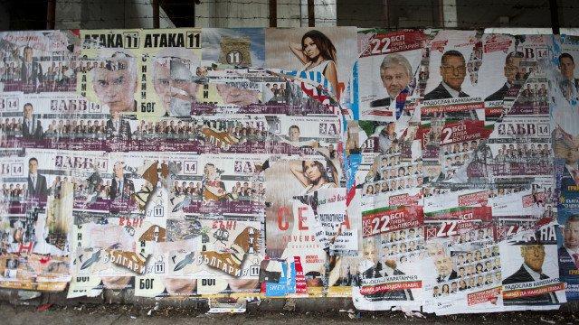 Глоба за 14 партии, забравили да махнат предизборните си плакати в София