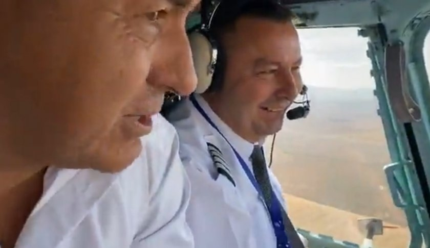 Бойко от хеликоптера: Заради комунизма още догонваме Запада (ВИДЕА)