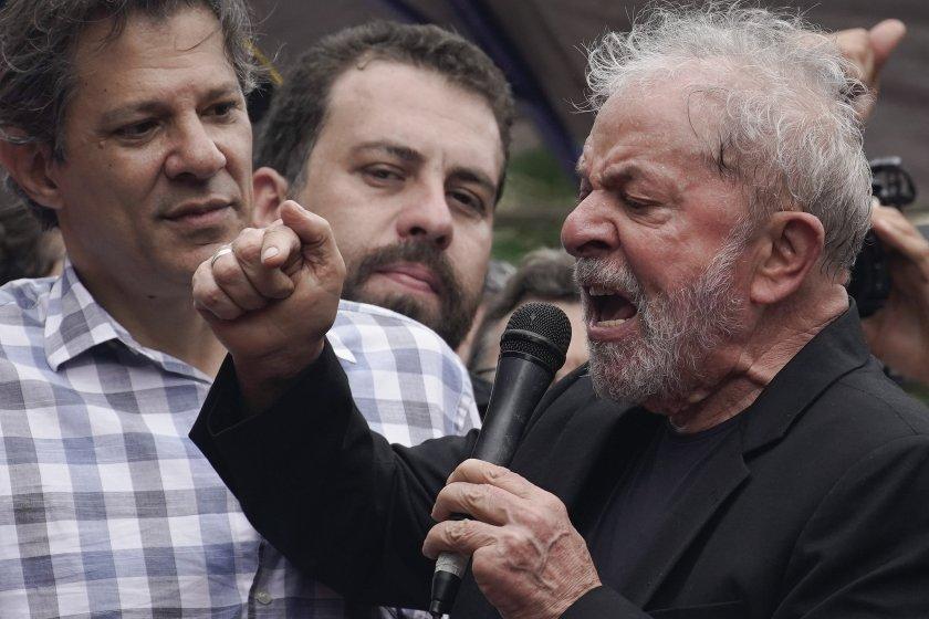 Лула да Силва след пандиза: Ще боря корупцията!