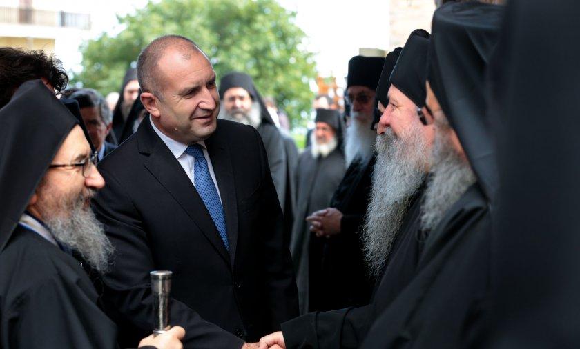 Радев: Света гора от векове облагородява православието