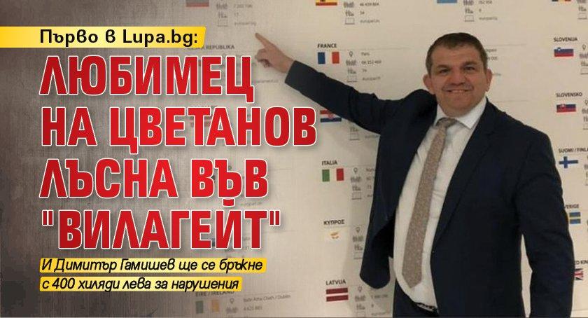"""Първо в Lupa.bg: Любимец на Цветанов лъсна във """"Вилагейт"""""""