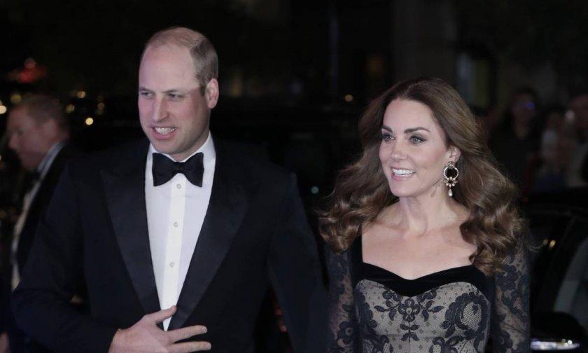 Кейт и Уилям блеснаха на благотворително шоу