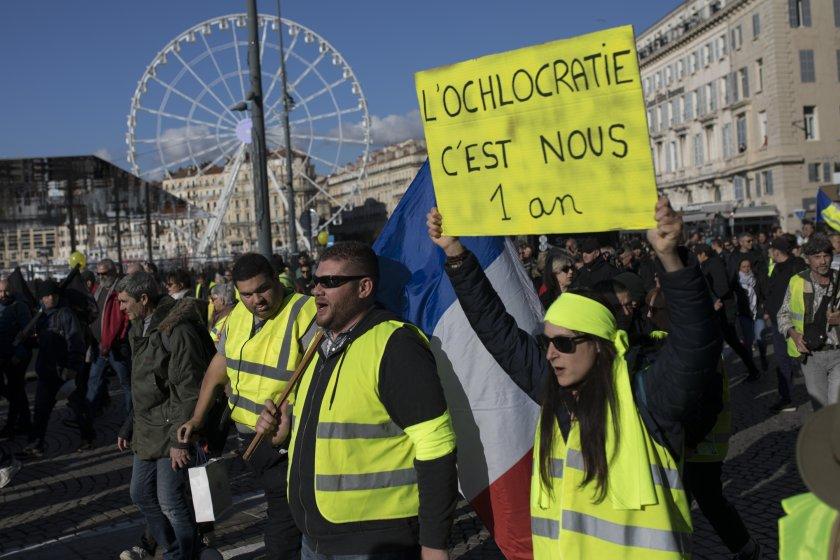 105 арестувани след погрома в Париж