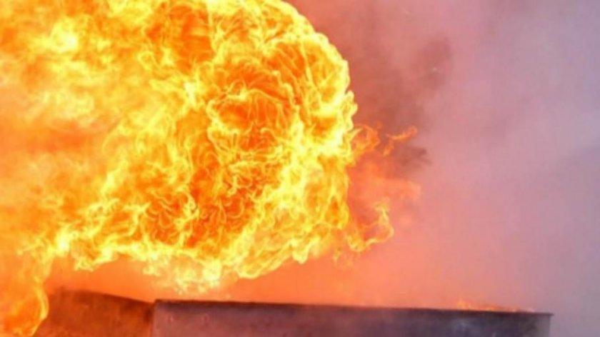 Трима ранени при експлозия в цех за биогаз край Ямбол