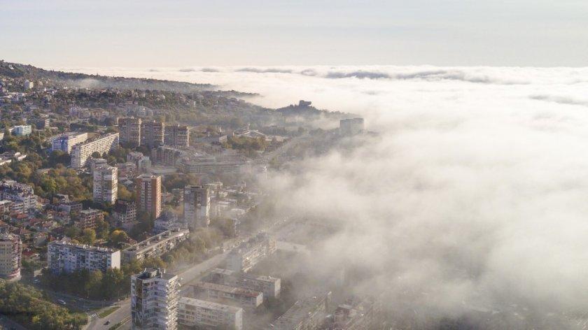 Облаци и мъгла през целия ден, предупреждават синоптиците